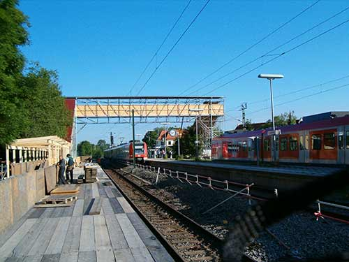 Neubiberg-Bahnsteig