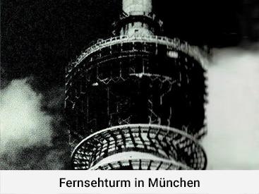 Fernsehturm in München