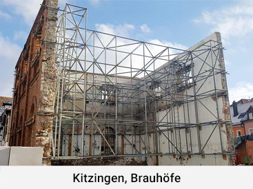 Kitzingen, Brauhöfe