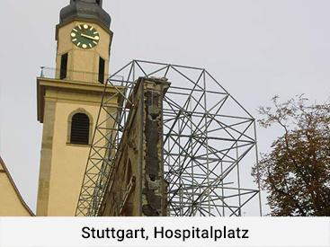 Stuttgart, Hospitalplatz