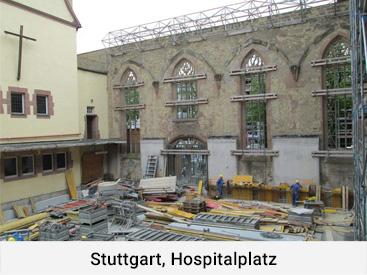 Stuttgart Hospitalplatz