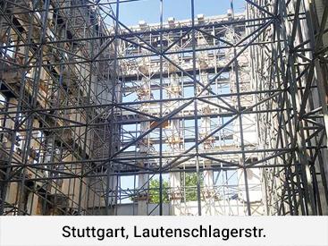 Stuttgart, Lautenschlagerstr.