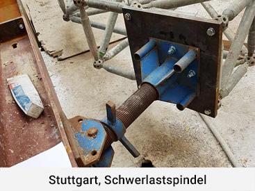Stuttgart, Schwerlastspindel