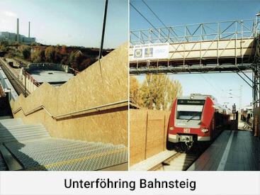 Unterföhring Bahnsteig